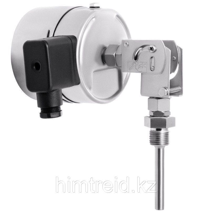 Термометры Росма Тип БТ, серия 220,БТ-54.220 ЭКП Термометры коррозионностойкие с электроконтактной приставкой