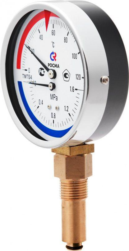 Термоманометры Тип ТМТБ ТМТБ-3,ТМТБ-4,манометры радиальные ,осевые