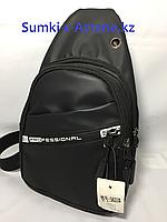 Нагрудная сумка через плечо.Высота 29 см, ширина 16 см, глубина 5 см., фото 1