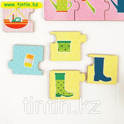 Пазл-набор «Целое и его части» (тройной, в деревянной коробке), фото 2