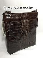 Мужская сумка через плечо BOND NON.Высота 26 см, ширина 23 см, глубина 4 см., фото 1