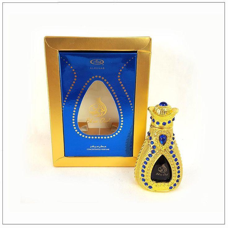 Масляные духи Blue Oud Al-Rehab (15 мл, ОАЭ)
