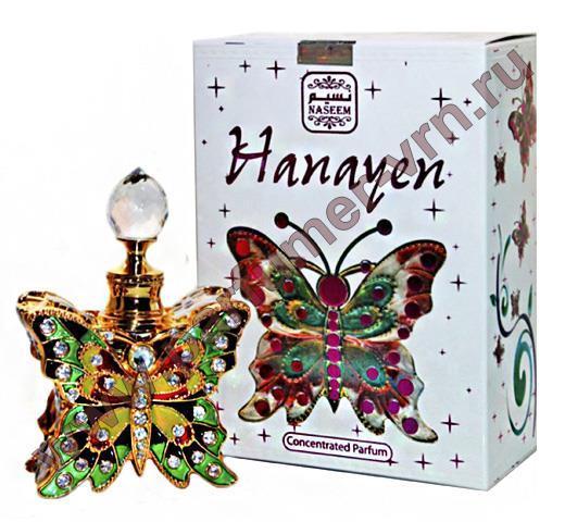 Масляные духи Hanayen Naseem Perfume (12 мл, ОАЭ)