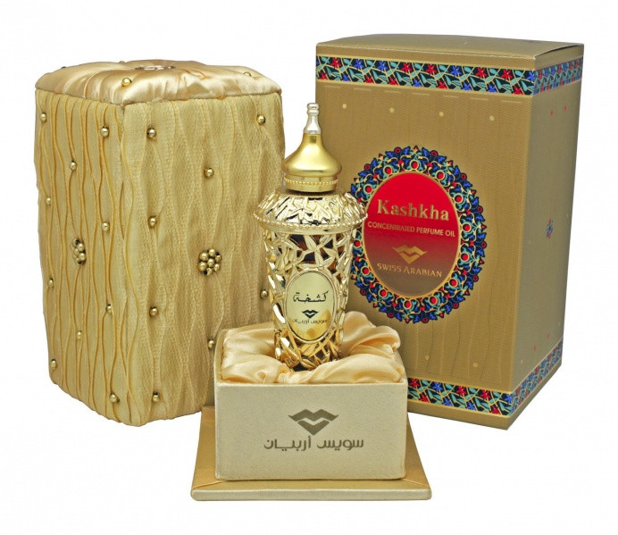 Женские масляные духи Kashkha Swiss Arabian (20 мл, ОАЭ)