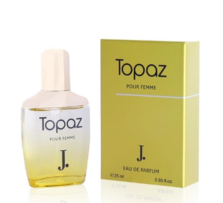 Парфюмерная вода для женщин Topaz Junaid Jamshed (25 мл, ОАЭ)