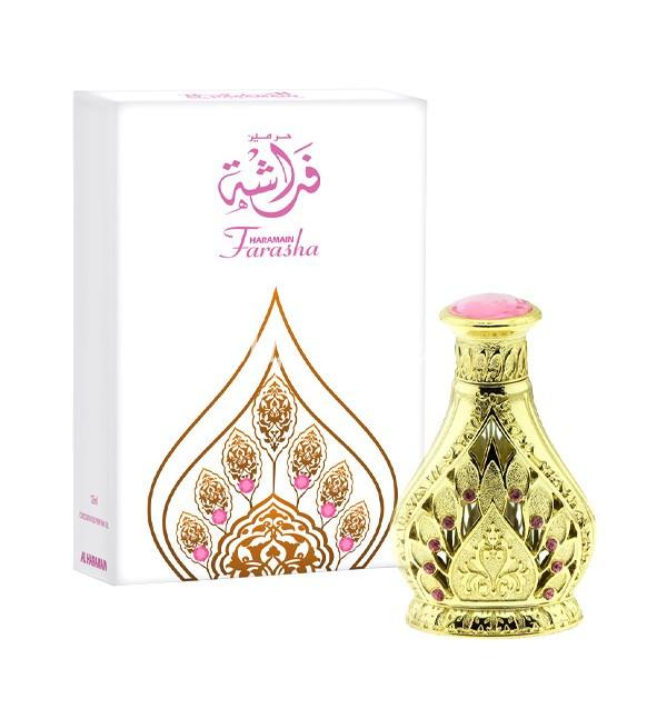 Масляные женские духи Farasha Al Haramain (12 мл, ОАЭ)