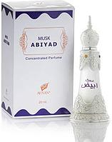 Масляные духи Musk Abiyad Afnan Perfumes (20 мл, ОАЭ)