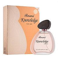 Парфюмерная вода для женщин Knowledge For Her Rasasi (100 мл, ОАЭ)
