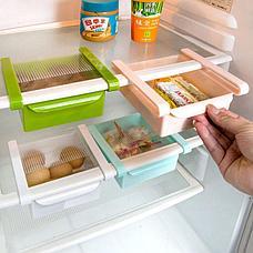Подвесной органайзер для холодильника зеленый Теплая осень, фото 3