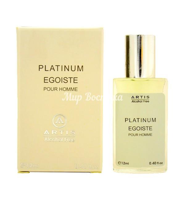 Мужские масляные духи Platinum Egoiste Artis (12 мл, ОАЭ)