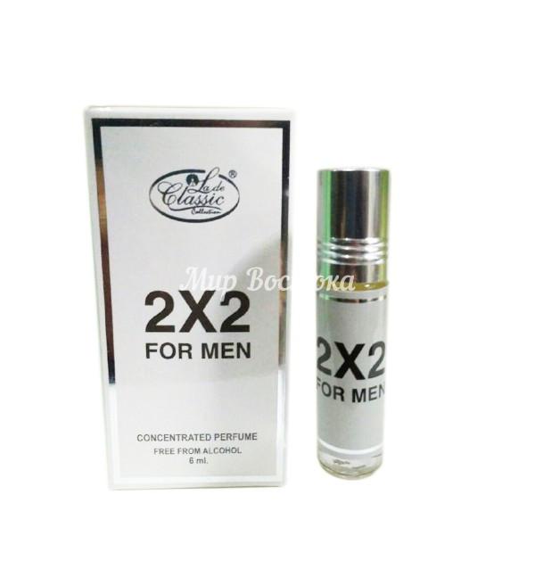 Масляные духи 2х2 for men La De Classic Collection