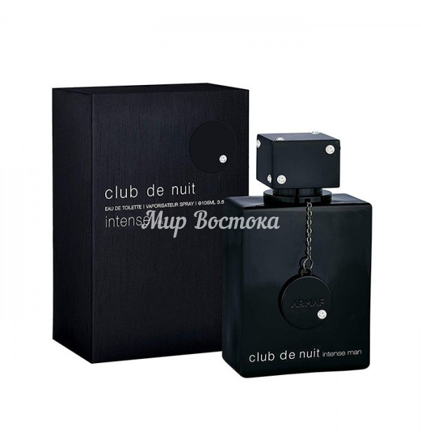 Парфюмерная вода для мужчин без алкоголя Club De Nuit Intense Man Non Alcoholic Armaf (105 мл, ОАЭ)
