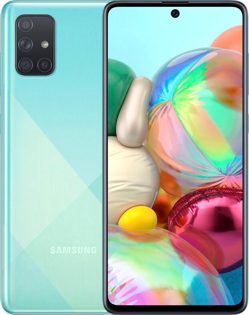Samsung Galaxy A71 2018 Blue