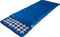 Спальный мешок HIGH PEAK Мод. HIGHLAND (230х90см)(1,70кГ)(-10/+9ºС)(синий) R 89158