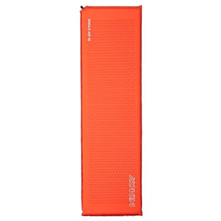 Каремат (самонадувной) KOVEA Мод. SINGLE AIR 38 (183х51х3,8см)(780г)(красный) R43163