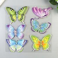 3D Наклейки Room Decor 'Радужные бабочки' 30х30 см