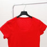 Вешалка-плечики для одежды, размер 44-46, цвет чёрный