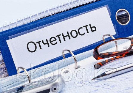 Составление годовых отчетов по производственному экологическому контролю по установленной форме