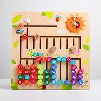 Деревянная игрушка 'Арифметическая доска' 30x30x2,3 см