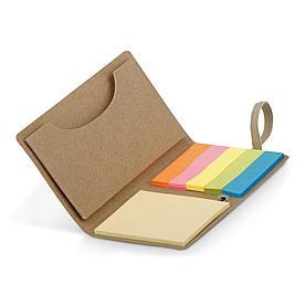Блокнот с цветными стикерами