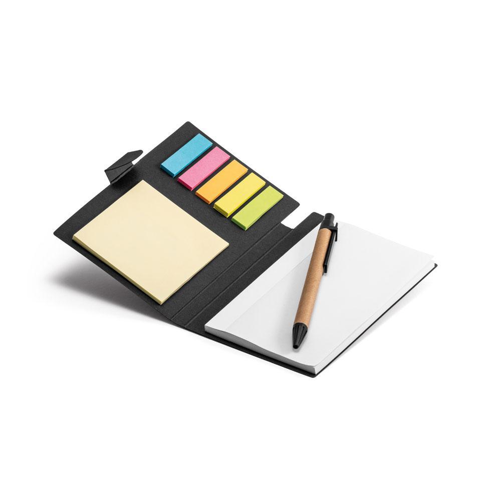 Блокнот со стикерами и ручкой, COOPER
