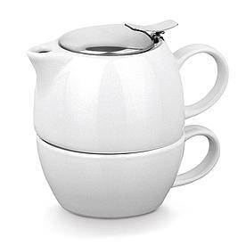 Керамический чайный набор 2 в 1, COLE