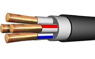 Кабель ВВГнг(А)-LS 5х6 ок(N,PE) -0,66
