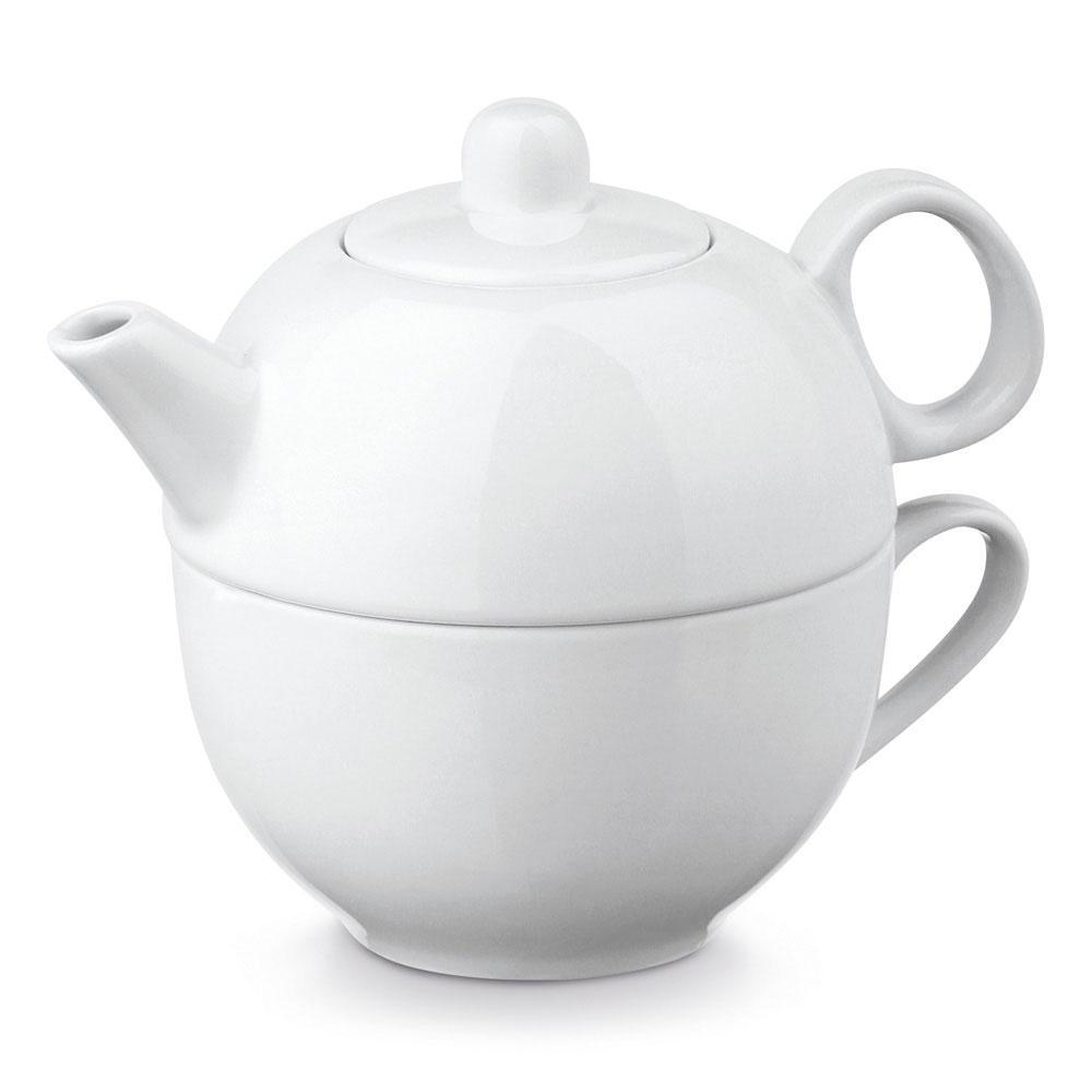Чайный сервиз из фарфора 2 в 1, INFUSIONS