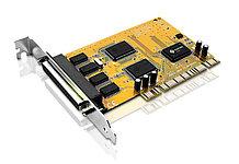 ATEN IC104S-AT 4-портовая PCI-карта RS-232