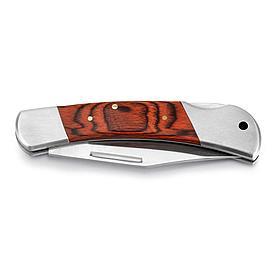 Карманный нож из нержавеющей стали и дерева, FALCON II