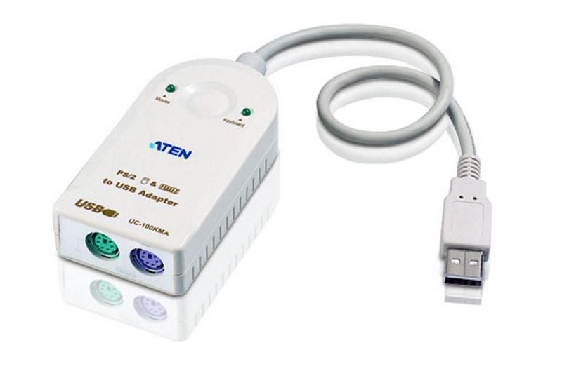 Конвертер интерфейса PS/2-USB (30см) ATEN UC100KMA