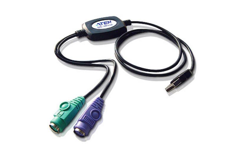 Переходник PS/2 на USB ATEN UC10KM-AT
