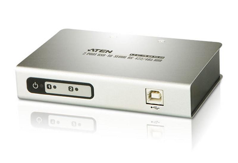 2/4-портовый концентратор с переходником USB-последовате ATEN UC4852-AT