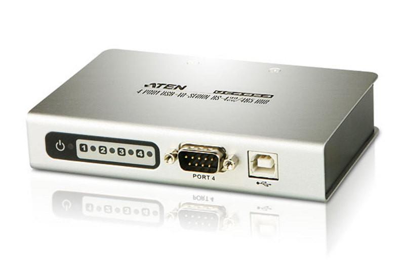 4-портовый концентратор с переходником USB-последовател ATEN UC4854-AT
