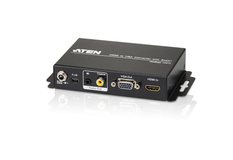 Преобразователь HDMI в VGA с масштабированием ATEN VC812-AT-G