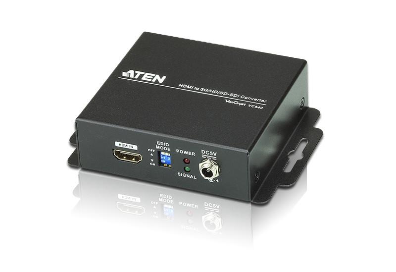 HDMI d 3G/HD/SD-SDI конвертер ATEN VC840-AT-G