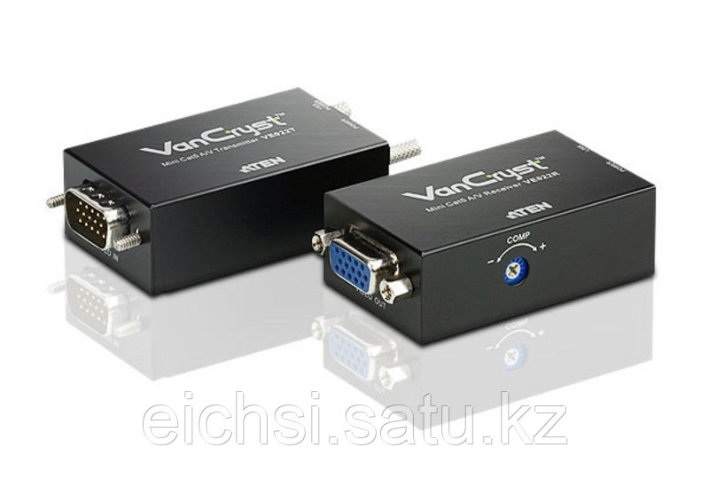 Аудио-/видеоудлинитель Mini Cat 5 ATEN VE022-AT-G