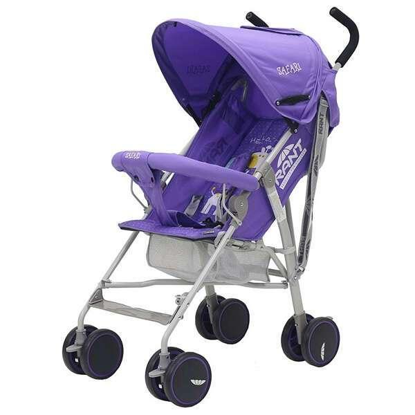 Коляска прогулочная Rant Safari purple