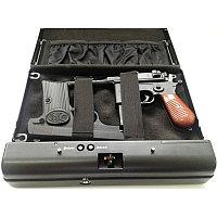 """Биометрический автомобильный сейф """"Ospon 500SDT"""" для денег и оружия"""