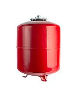 Расширительный бак 24 л вертикальный (красный)