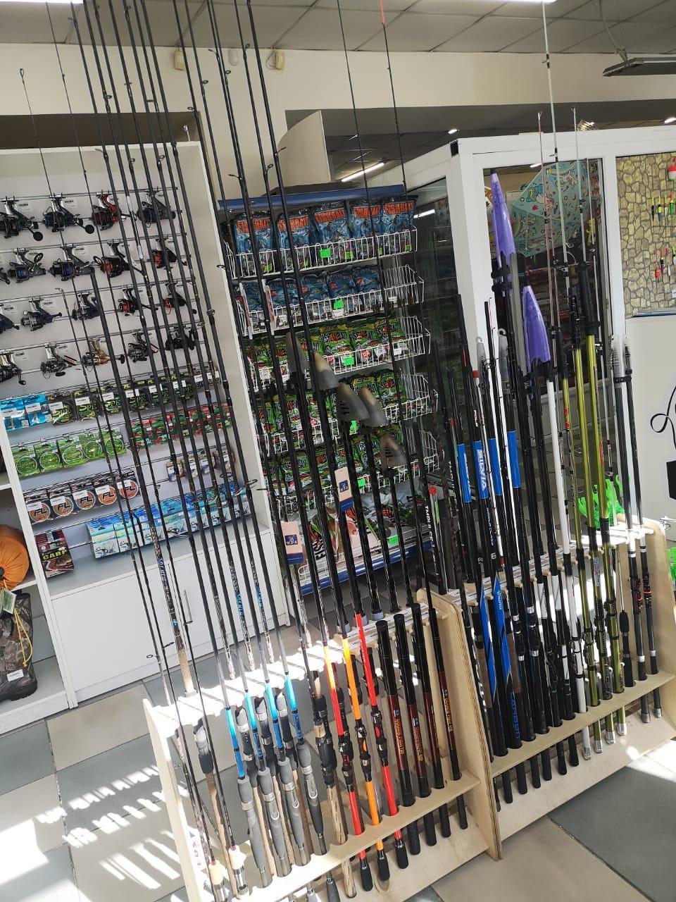 Удочки, спиннинги, товары для рыбалки, катушки - фото 1