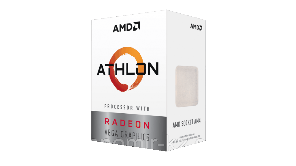 Процессор  CPU AMD Athlon GE240, 3.5GHz/AM4/14nm/Zen/4 Mb L3 Cache/Radeon Vega 3/OEM