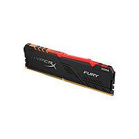 Оперативная память Kingston HyperX Fury RGB HX430C15FB3A/8 DDR4 8G 3000MHz