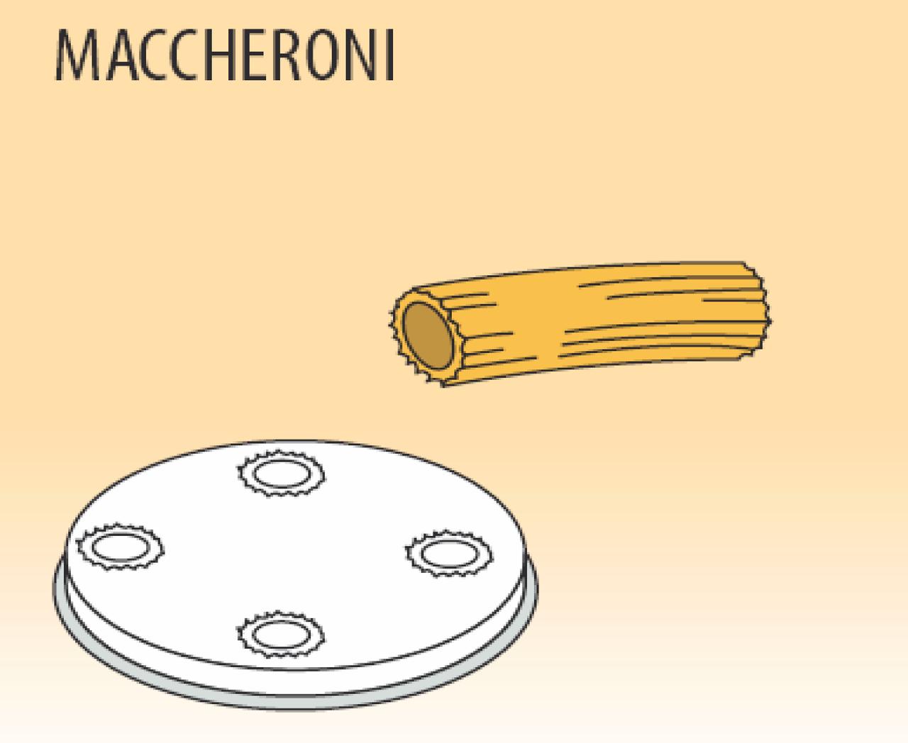 Фильера Fimar MPF 1,5 MACCHERONI, паста Ø 8,5 мм