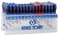 KING TONY Стенд с силовыми отвертками и отвертками TORX, серии 1461, 1462, 1427, 96 предметов KING TONY 31516MR