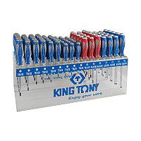 KING TONY Подставка для отверток на 96 предметов KING TONY 87105