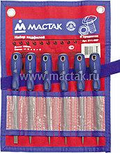 МАСТАК Набор надфилей, 6 предметов МАСТАК 311-06P
