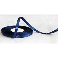 Лента атласная для прошивки документов, 5 мм, синяя