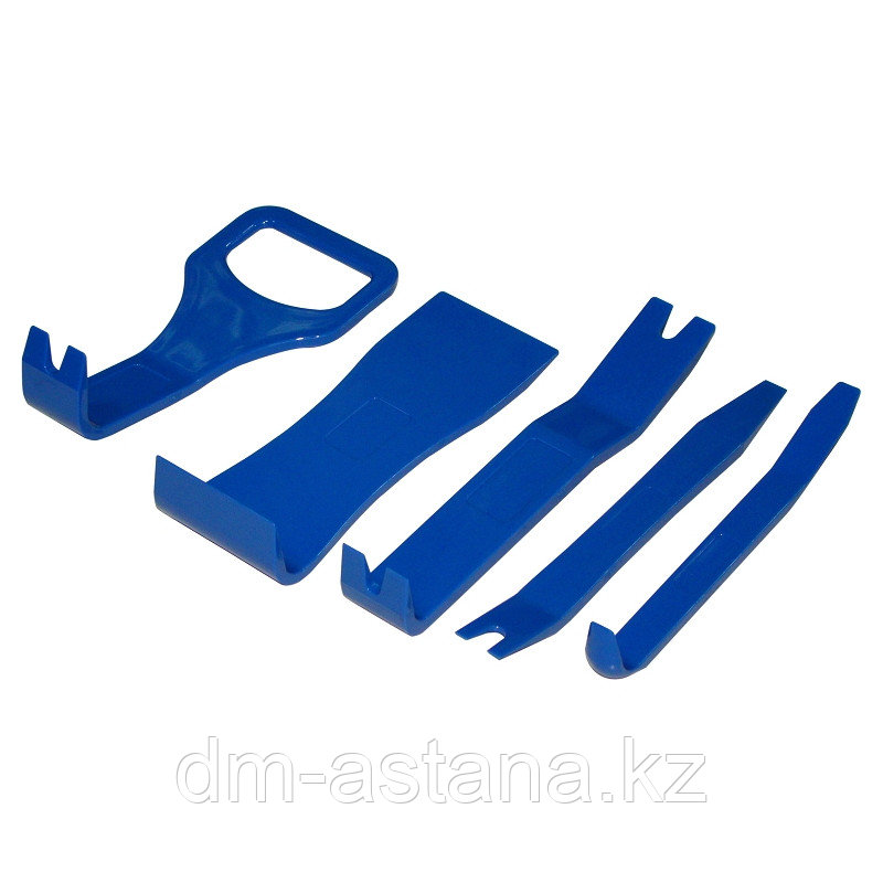 МАСТАК Набор съемников (лопатки) для панелей облицовки, 5 предметов МАСТАК 108-10005