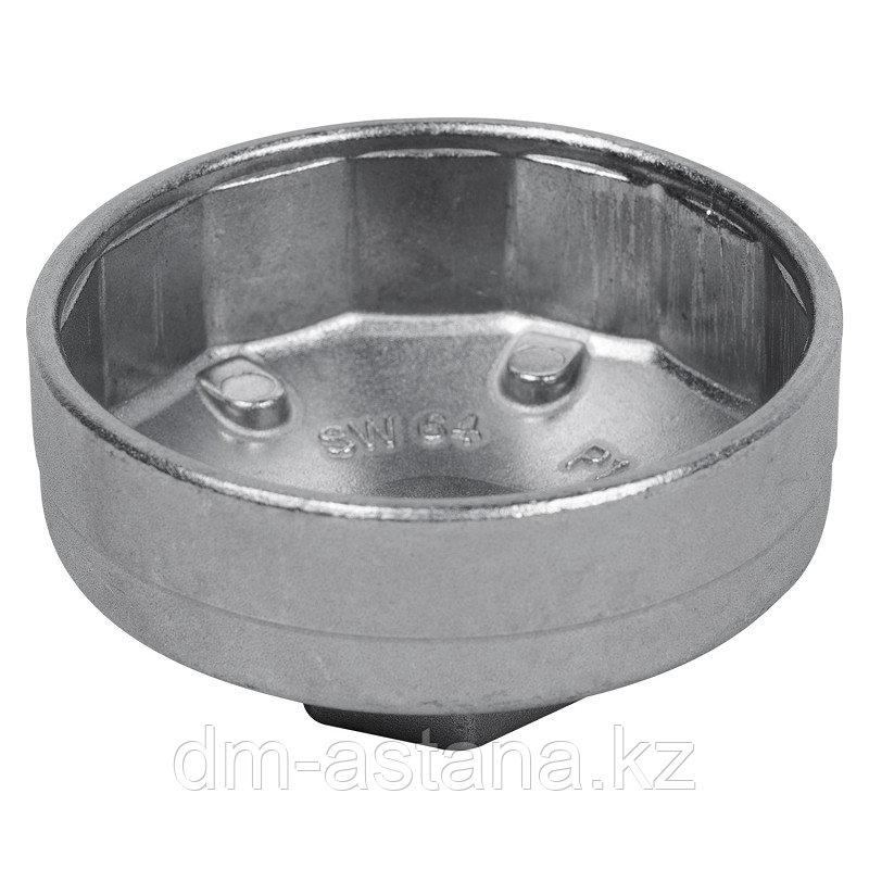 МАСТАК Съемник масляных фильтров, 64 мм, 14 граней, торцевой МАСТАК 103-44165